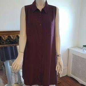 Lulu's button down dress